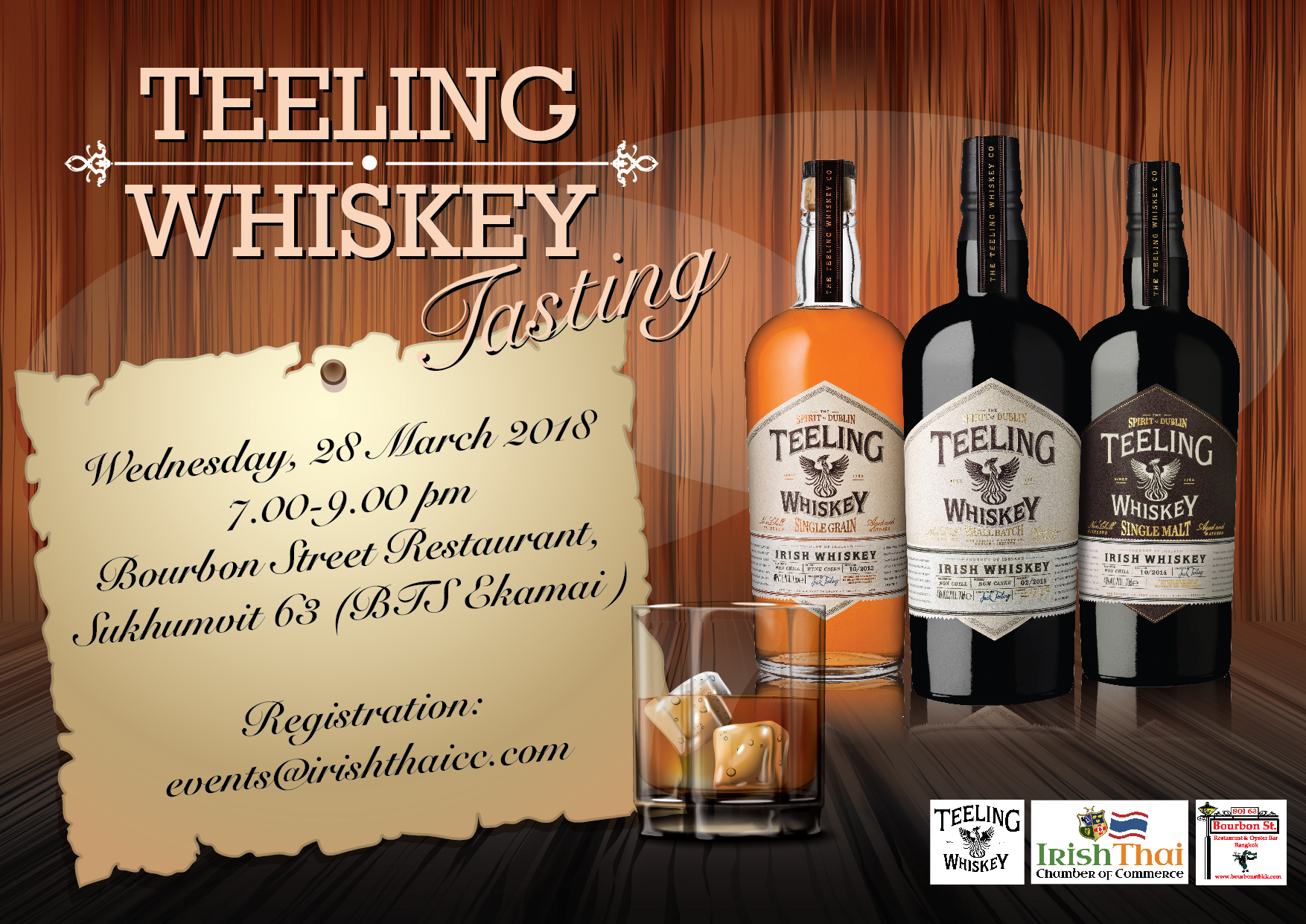 Teeling Whiskey Tasting The Irish Thai Chamber Of Commerce